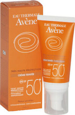 Крем солнцезащитный с тональной основой SPF 50+ AVENE