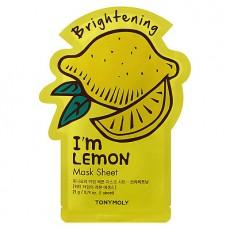 Тканевая маска для лица с экстрактом лимона Ton yMoly I'm Lemon Mask Sheet (3шт)