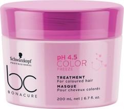 Маска для окрашенных волос Сияние Цвета BC BONACURE Color Freeze Treatment Schwarzkopf