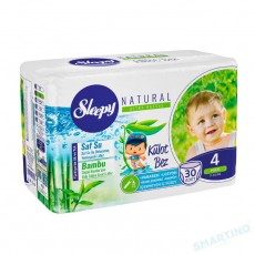 Подгузники-трусики Sleepy Natural Jumbo 4 Maxi (7-14 кг) 30 шт