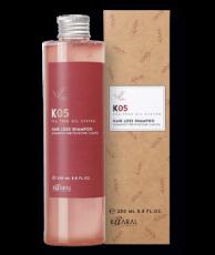 Шампунь против выпадения волос Anti Hair Loss Shampoo К 05 HAIR CARE Kaaral