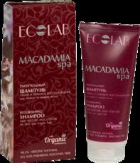 Шампунь питательный «Объем и глубокое восстановление» Macadamia SPA ECOLAB