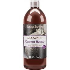Шампунь для ослабленных волос с экстрактом черной репы Barwa Ziolowa
