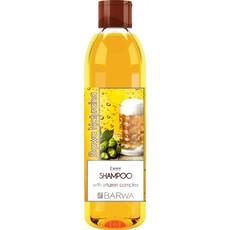 Шампунь Пивной придающий блеск с комплексом витаминов Barwa Naturalna
