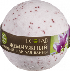 Бурлящий шар для ванны Магнолия и Иланг-иланг «ECOLAB»