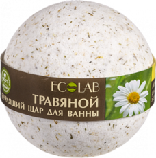 Бурлящий шар для ванны Розмарин и Лаванда «ECOLAB»