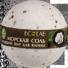Бурлящий шар для ванны Мангостин и Ваниль «ECOLAB»