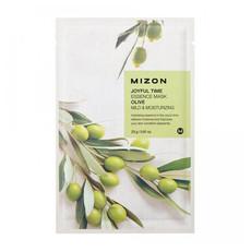 Тканевая маска для лица с экстрактом оливы MIZON Joyful Time Essence Mask Olive (5шт)