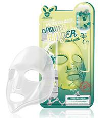 Тканевая маска с экстрактом центеллы ELIZAVECCA Centella Asiatica Deep Power Ringer Mask Pack