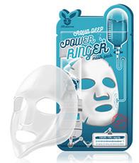 Тканевая увлажняющая маска для сухой кожи ELIZAVECCA Aqua Deep Power Ringer Mask
