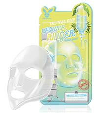 Тканевая маска для проблемной кожи ELIZAVECCA Tea Tree Deep Power Ringer Mask Pack