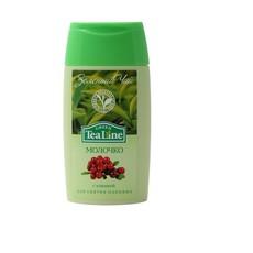"""Молочко для снятия макияжа """"Зеленый чай с клюквой""""  Tea Line"""