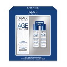 Набор AGE PROTECT COFFR (Крем дневной 40 мл+сыворотка 10 мл+крем-детокс ночной 10 мл, 1 уп.) Uriage
