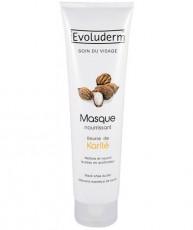 Питательная маска для лица Evoluderm Moisturizing Face Mask Shea Butter