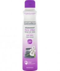 Дезодорант с экстрактом хлопка Evoluderm Alun Rock Cotton extract 24H