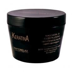 Маска для волос с кератином восстанавливающая KERATIN DEEP RECONSTRUCTOR MASK Phytorelax