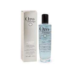 Восстанавливающая сыворотка с микрочастицами золота и бриллианта для поврежденных волос Fanola Oro Therapy 24k Diamante Puro