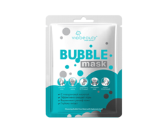 Очищающая маска Bubble Mask с гиалуроновой кислотой VIABEAUTY