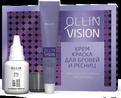 Крем-краска для бровей и ресниц (набор) OLLIN Vision
