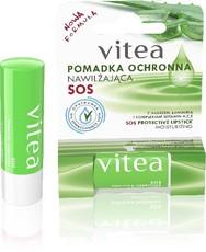 Помада (бальзам) защитная для губ увлажняющая (Алое, Ланолин витамины А,С,Е) Vitea