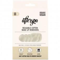Хлопковые диски для снятия макияжа AfterSpa (3+2) набор