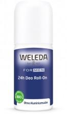 Мужской дезодорант 24 часа Roll-On, Weleda, 50мл