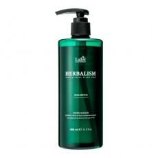 Успокаивающий шампунь для волос LA'DOR HERBALISM SHAMPOO