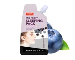 Маска ночная увлажняющая с экстрактом ягод Mix Berry Sleeping Pack YEPPEN SKIN