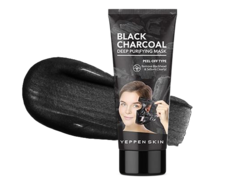 Маска-пленка с Углем для глубокой очистки Black Charcoal Deep Purifying Mask - Peel-off Type YEPPEN SKIN