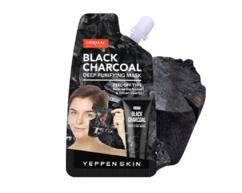 Маска-пленка угольная для глубокого очищения лица Black Charcoal Deep Purifying Mask YEPPEN SKIN