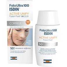 Флюид солнцезащитный для лица Foto Ultra 100 Active Unify SIN COLOR SPF 50+ ISDIN