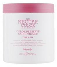 Кондиционер для защиты цвета окрашенных тонких и нормальных волос THE NECTAR COLOR / COLOR PRESERVE CONDITIONER fine hair NOOK