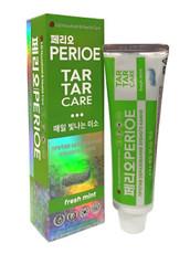 """Зубная паста """"Tar Tar Care Fresh Mint"""" свежая мята PERIOE"""