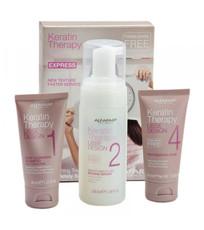 Промо-набор для процедуры кератиновое выпрямление волос EXPRESS METHOD Alfaparf Milano Lisse Design Keratin Therapy
