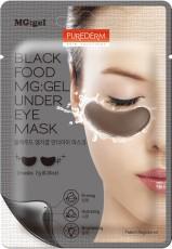 Гидрогелевые маски (патчи) для области под глазами BLACK FOOD MG:GEL UNDER EYE MASK PUREDERM