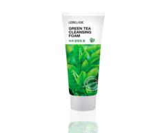 Очищающая пенка для умывания GREEN TEA CLEANSING FOAM с экстрактами зеленого чая и лечебных трав LEBELAGE
