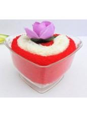"Полотенце для рук сувенирное ""Розовый десерт"" Liss Kroully"