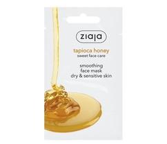 Мед тапиоки Разглаживающая маска для лица для сухой и чувствительной ZIAJA
