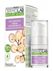 Крем от морщин вокруг глаз DERMOLAB NATURE SENSE EYE CONTOUR CREAM FOR WRINKLES, 15 мл Deborah Milano Nature Sense