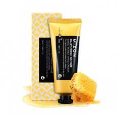 Крем с медом для глубокого питания сухой кожи рук MIZON Enjoy Fresn-On Time Sweet Honey Hand Cream