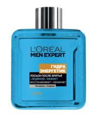 """Лосьон после бритья """"Гидра Энергетик, Ледяной эффект"""" восстанавливающий, охлаждающий Men Expert L'Oreal"""
