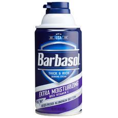 Крем-пена для бритья увлажняющая BARBASOL Extra Moisturizing Shaving Cream