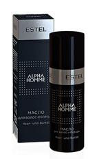 Масло для волос и бороды ESTEL ALPHA HOMME Estel