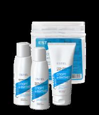 Набор Curex Active (Шампунь для волос (100 мл), бальзам для волос (100 мл), гель-массаж для душа (100 мл)) Estel