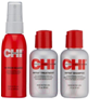 Набор CHI INFRA шампунь 177мл+кондиционер 177мл+Спрей-термозащита 59мл (без коробки)