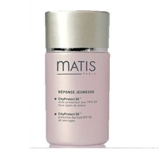 Флюид для лица дневной для всех типов кожи, защищающий от неблагоприятного действия города REPONSE JEUNESSE/CityProtect тм 50 SPF 50 MATIS