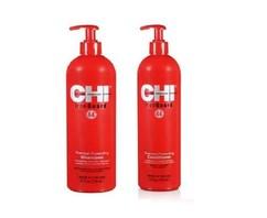 "Набор CHI Iron Guard 44 (Термозащитный кондиционер для волос 739мл + Шампунь для волос ""Термозащитный"" 739мл) (без коробки)"