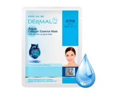 Маска для лица Морская вода и коллаген/Aqua Collagen Essence Mask Dermal