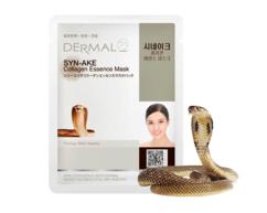 Маска для лица со Змеиным ядом и коллагеном /SYN-AKE Collagen Essence Mask Dermal