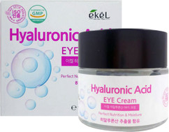 Крем для глаз увлажняющий с гиалуроновой кислотой EKEL